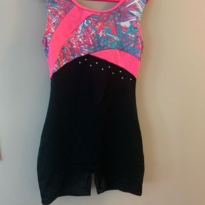 Gymnastics shorts one piece